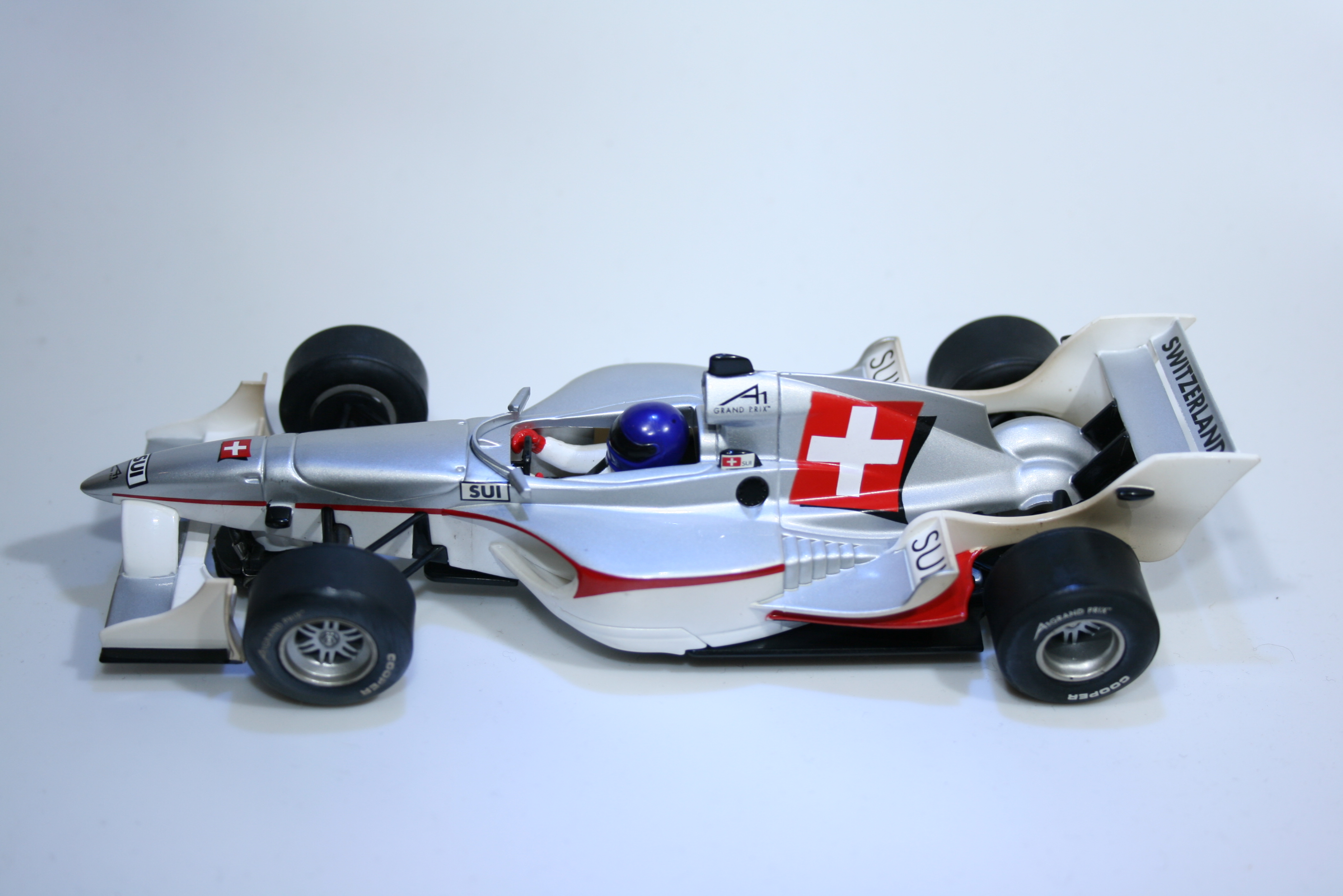 154 A1GP Switzerland 2006 S Bueli Scalextric C2709 2006 Boxed