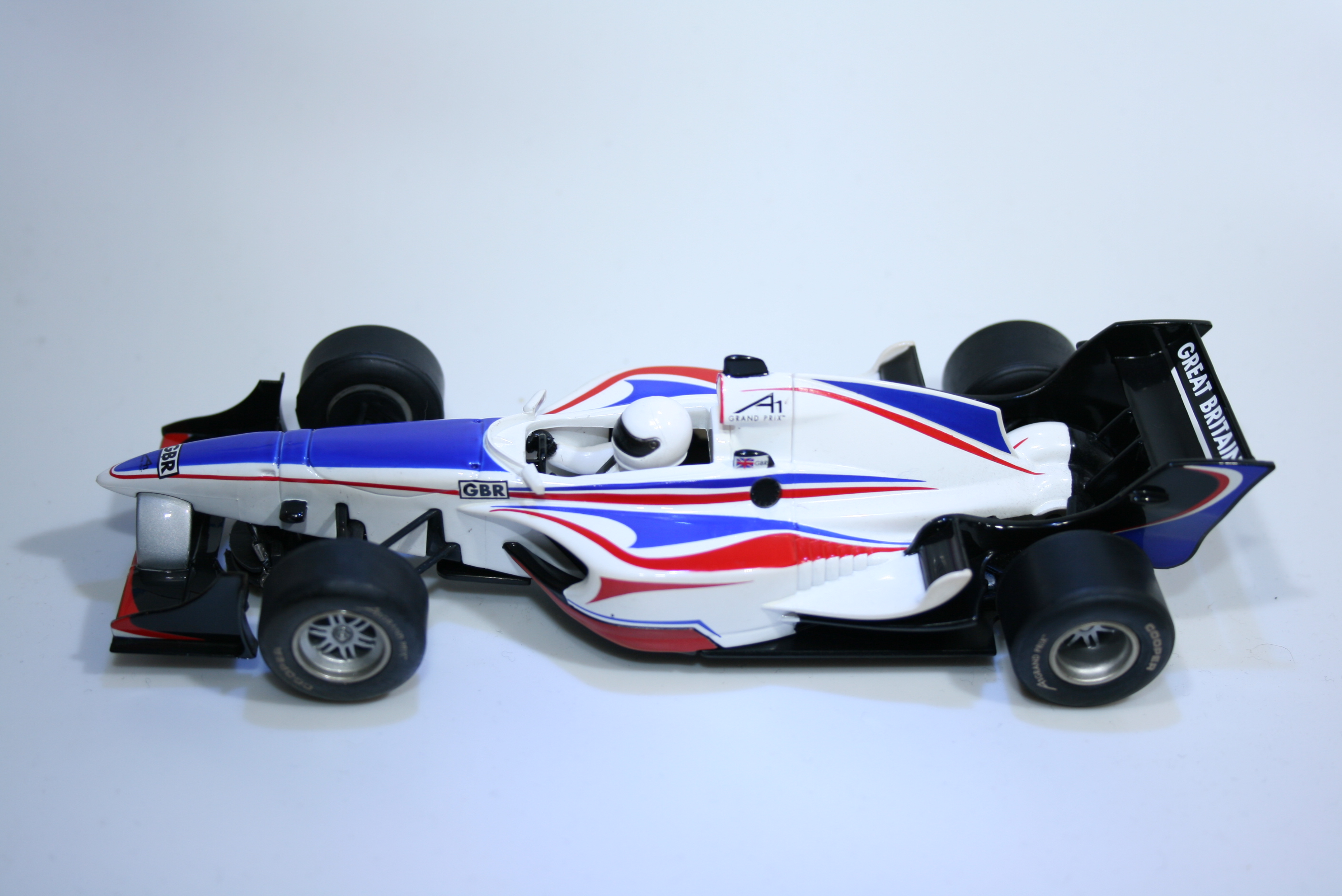 155 A1GP Great Britain 2006 O Jarvis Scalextric C2706 2006 Boxed