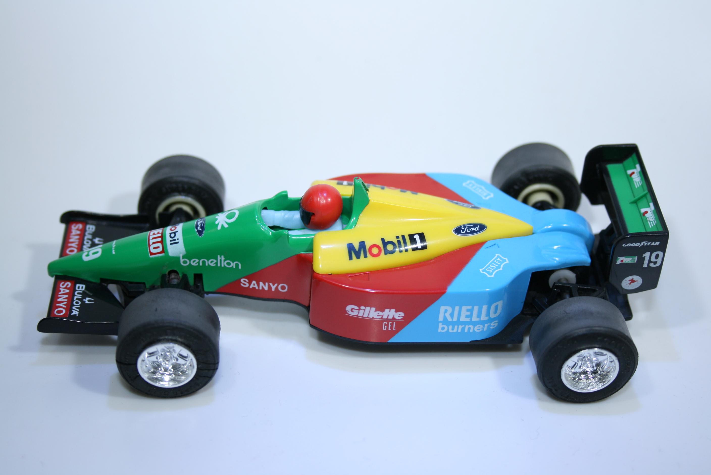 156 Benetton B189 1989 A Nanini Scalextric C461 1990-93