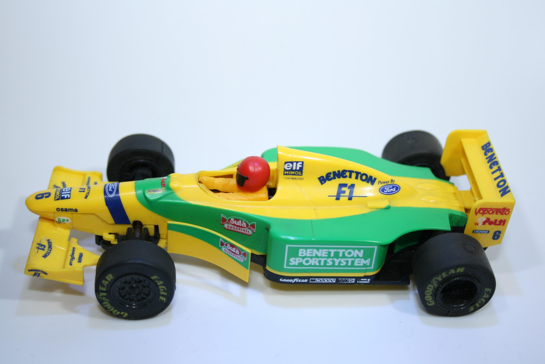 159 Benetton B193 1993 M Schumacher Scalextric C549W 1995