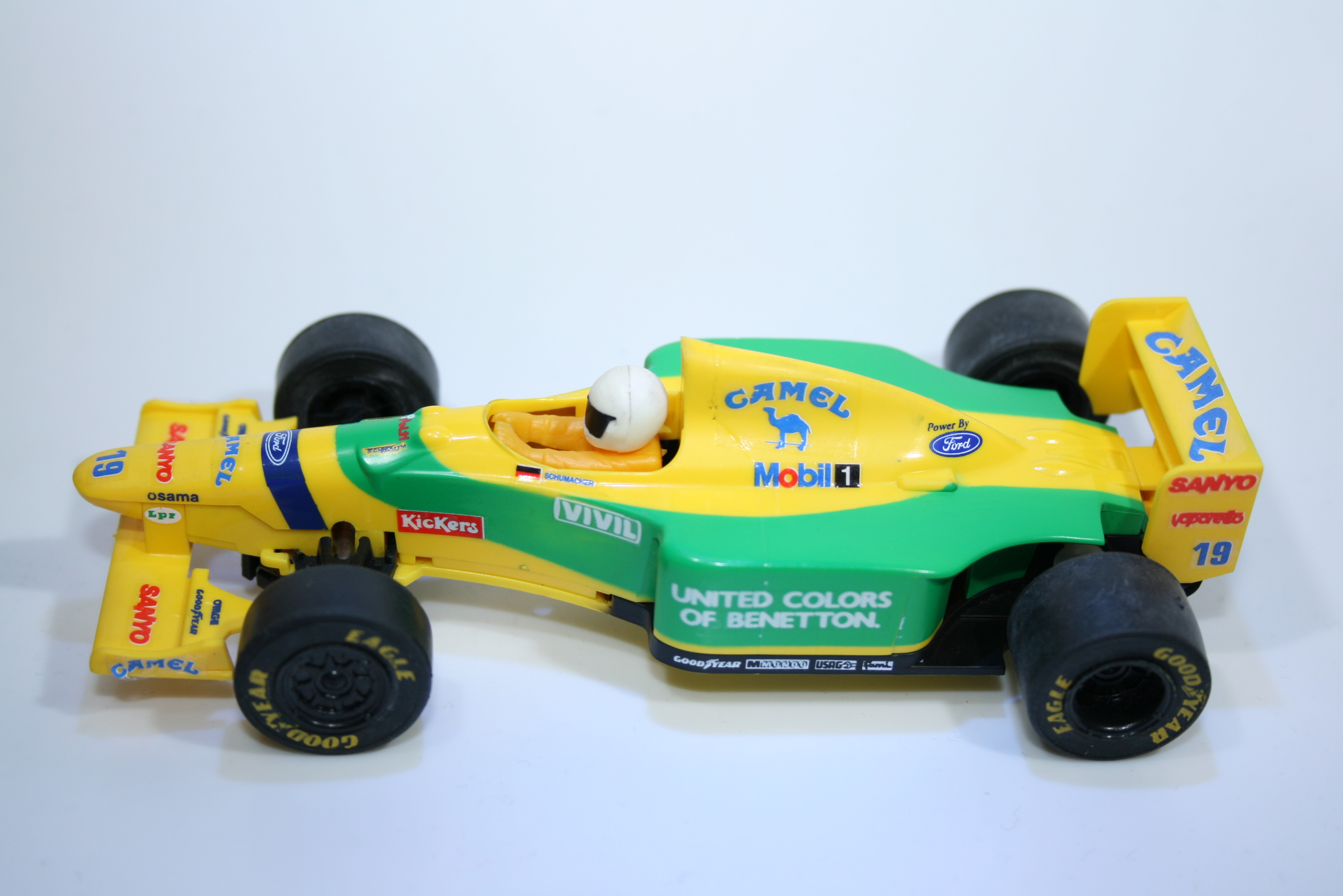 160 Benetton B192 1992 M Schumacher Scalextric C142 Relivery 1994