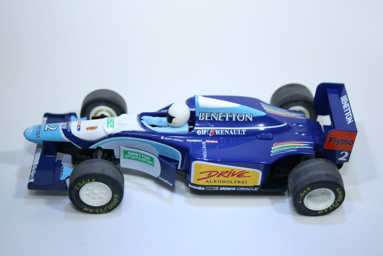 164 Benetton B195 1995 J Herbert Scalextric C583 1996 Boxed