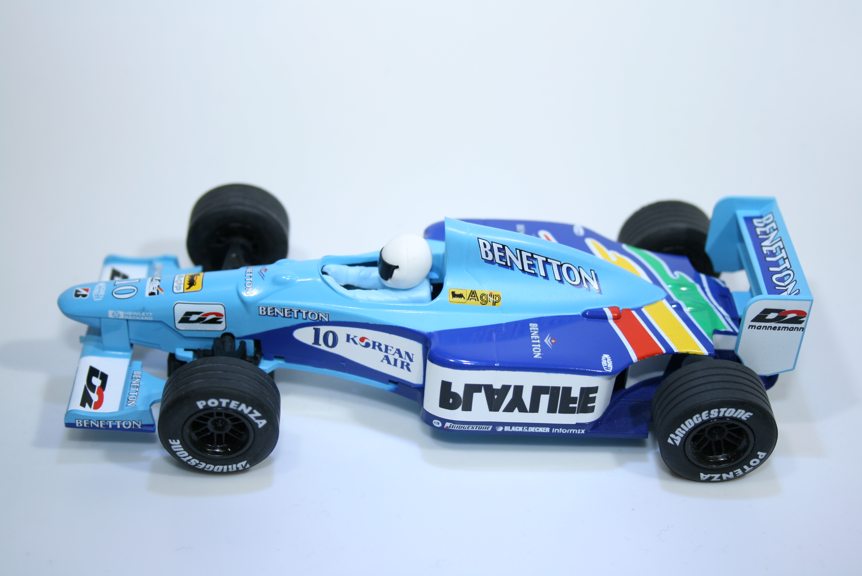 168 Benetton B199 1999 A Wurz Scalextric C2187 L2 1999 Boxed