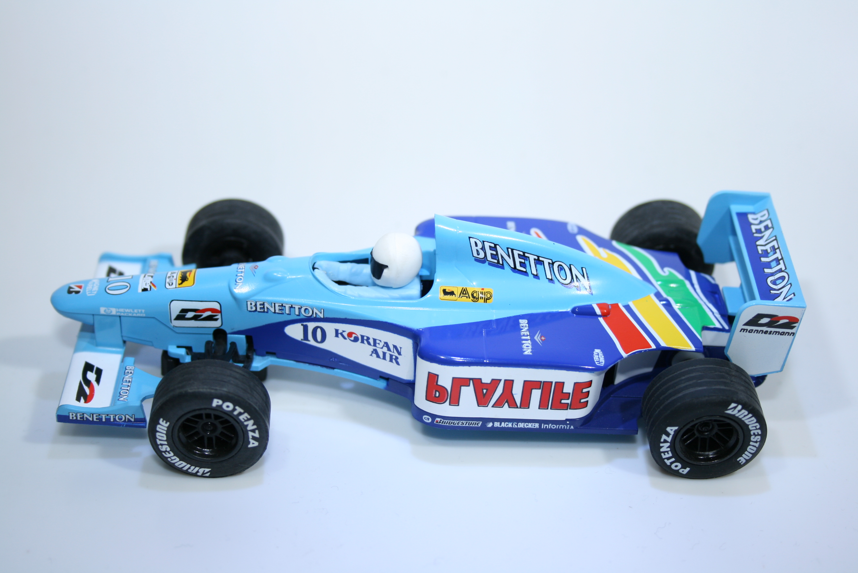 169 Benetton B199 1999 A Wurz Scalextric C2187 L1 1999 Boxed