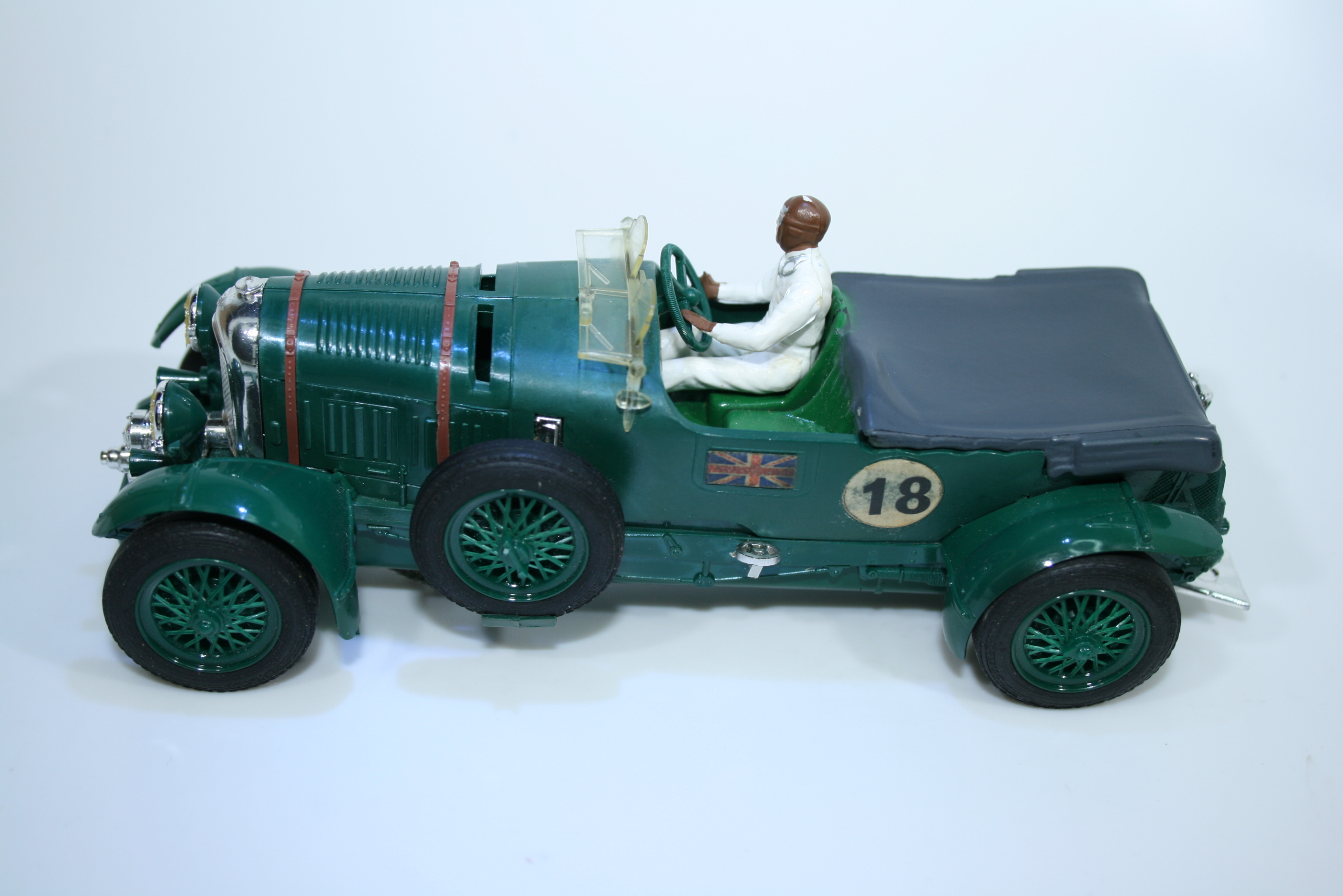 1228 Bentley 4.5L Supercharged 1927-31 T Birkin Scalextric C64 1962 Boxed