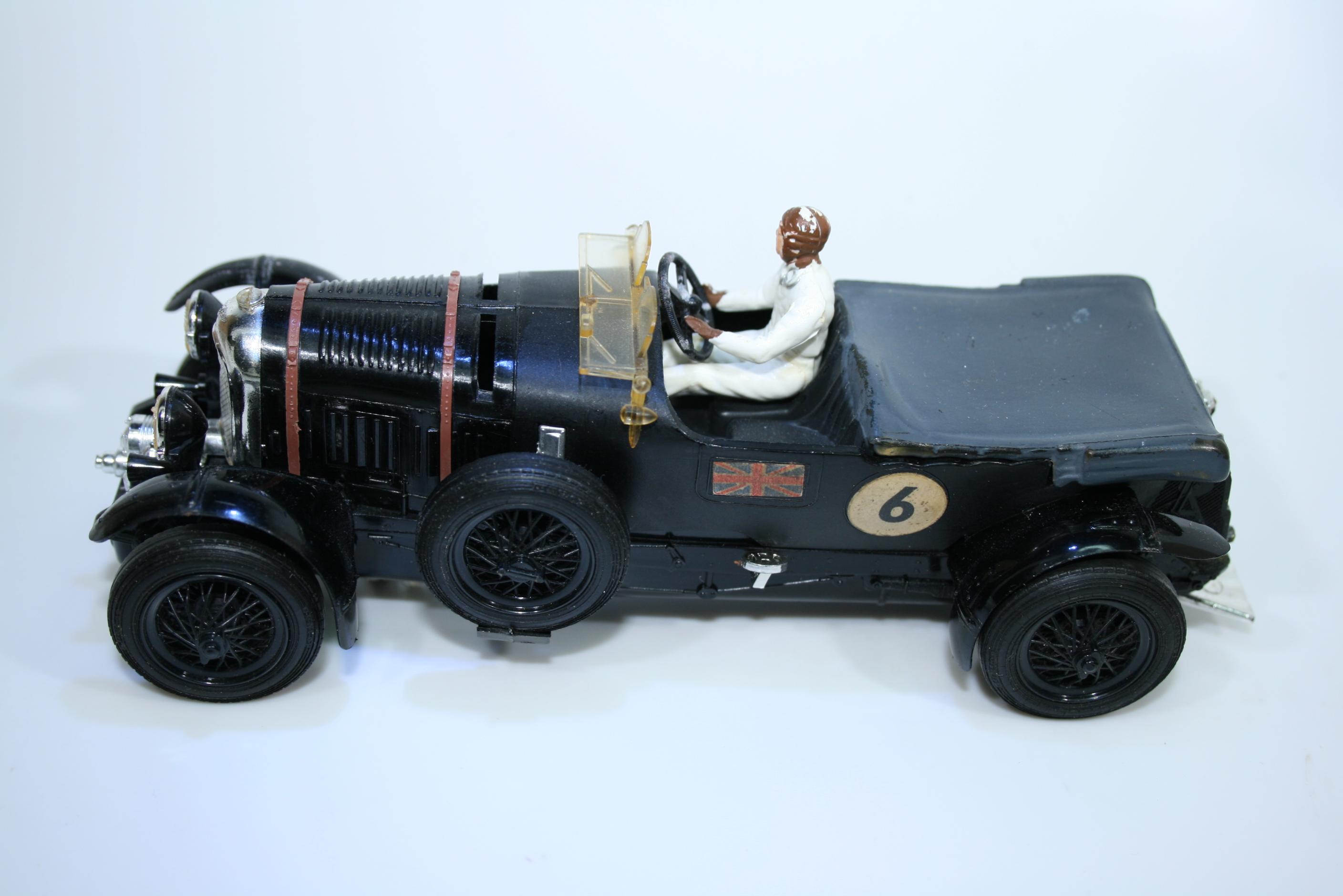 1229  Bentley 4.5L Supercharged 1927-31 T Birking Scalextric C64 1962 Boxed