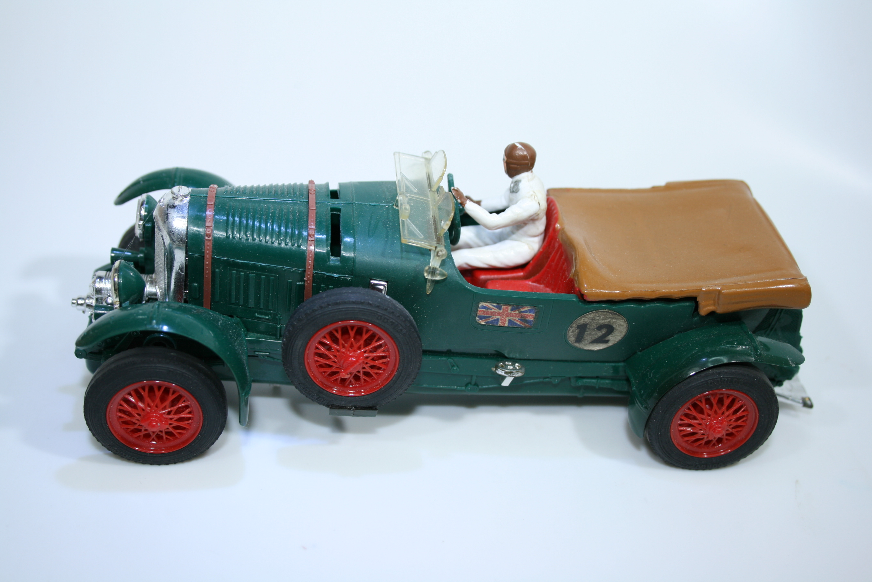 1357 Bentley 4.5L Supercharged 1927-31 T Birkin Scalextric C64 FRA 1962 Boxed