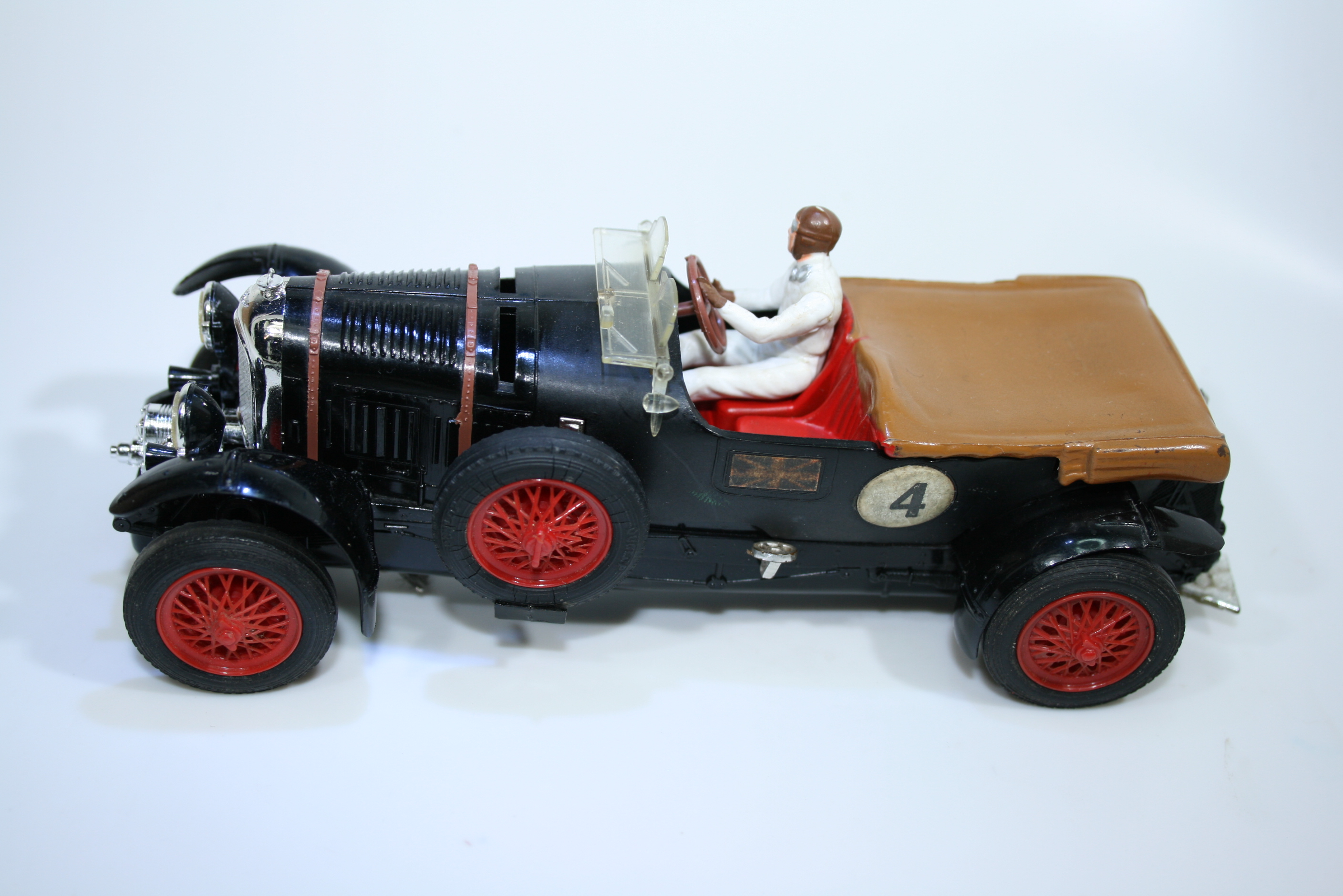 1358 Bentley 4.5L Supercharged 1927-31 T Birkin Scalextric C64 1962 FRA Boxed