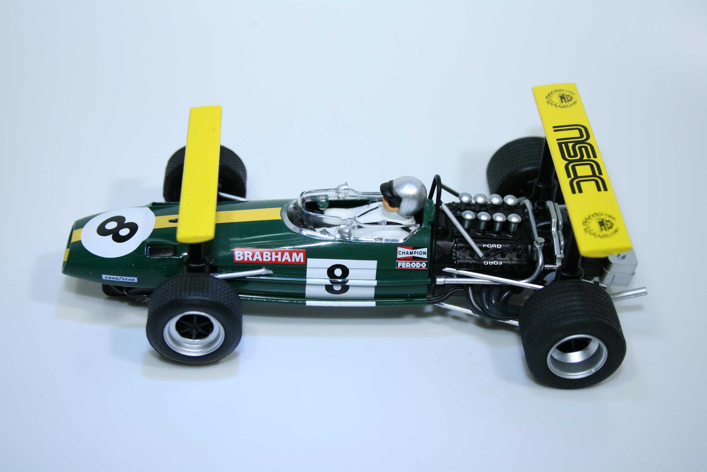 1121 Brabham BT26A 1969 J Brabham Scalextric C3589AF 2015 Boxed NSCC