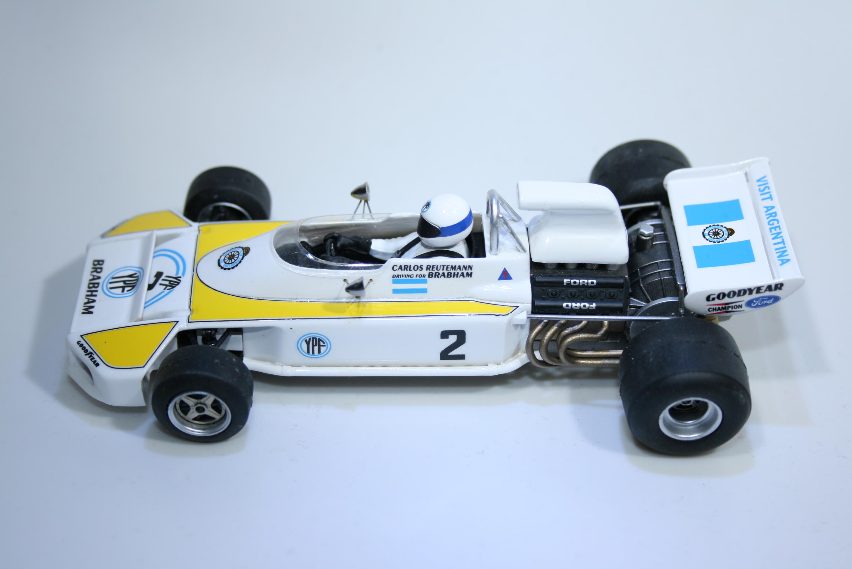 734 Brabham BT34 1972 C Reutemann Monoplace MN003/2 Boxed