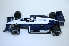 1484 Brabham BT55/BMW 1986 R Patrese NSR 0165IL 2020 Boxed