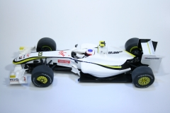 577 Brawn GP001 2009 R Barrichello Scalextric C3048 2010 Boxed