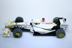 583 Brawn GP001 2009 J Button Scalextric C3047A 2010 Boxed