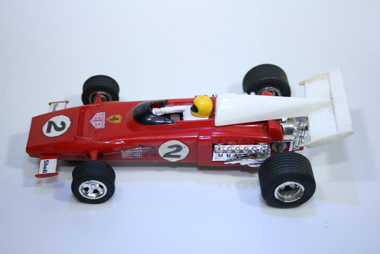 10 Ferrari 312 B2 1970-73 J Ickx Scalextric C25 1973-75 Boxed