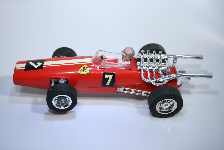 1001 Ferrari 312 1967 L Bandini GAMA 7004 1968 Boxed