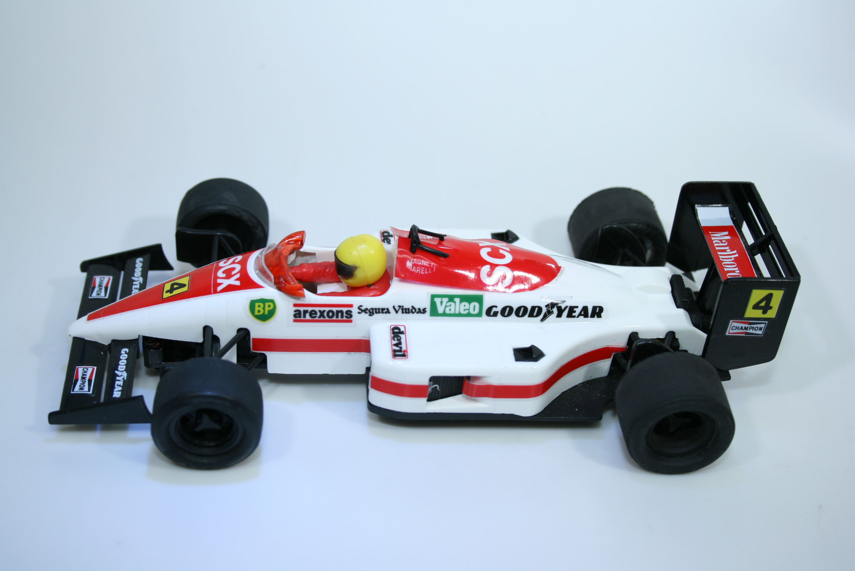 1197 Ferrari F1/87 1987-88 G Berger EXIN Club Car 1990