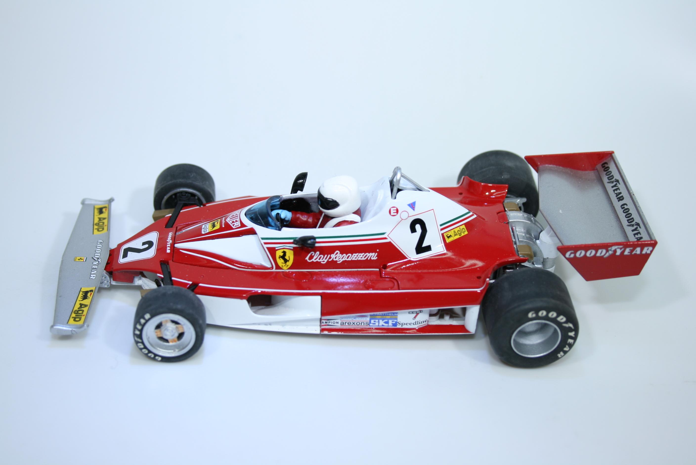 1404 Ferrari 312T 1976 C Regazzoni Scalextric C2799 2007 Pre Production