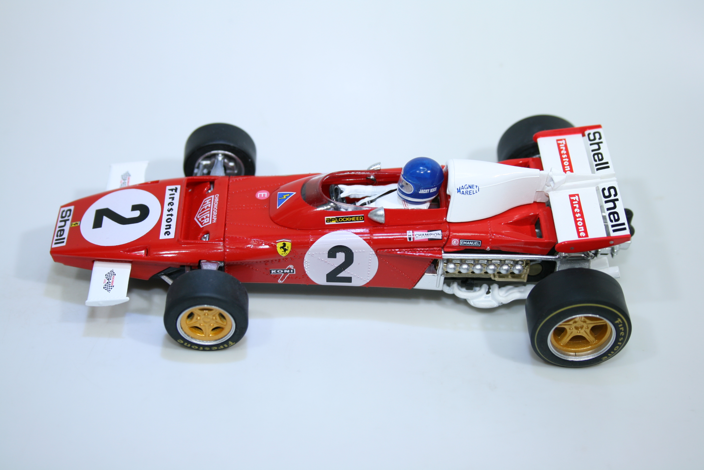 1547 Ferrari 312B 1971 J Ickx Policar CAR05A 2020 Boxed