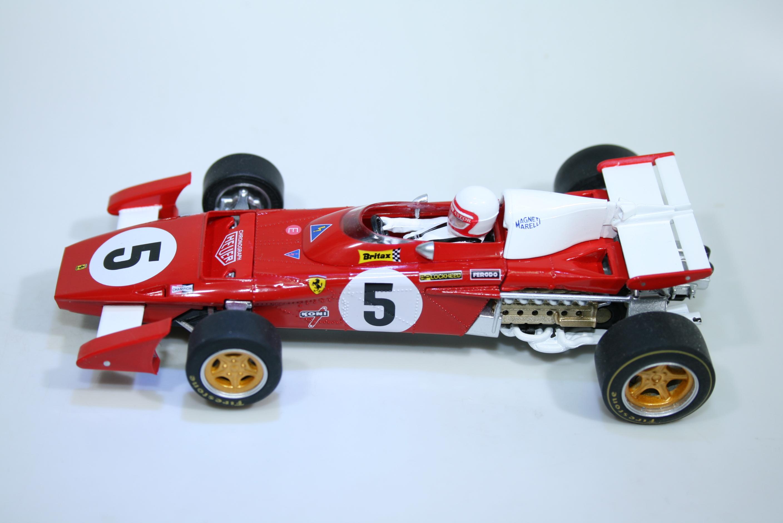 1693 Ferrari 312B2 1971 C Ragazzoni Policar CAR05B 2021 Boxed