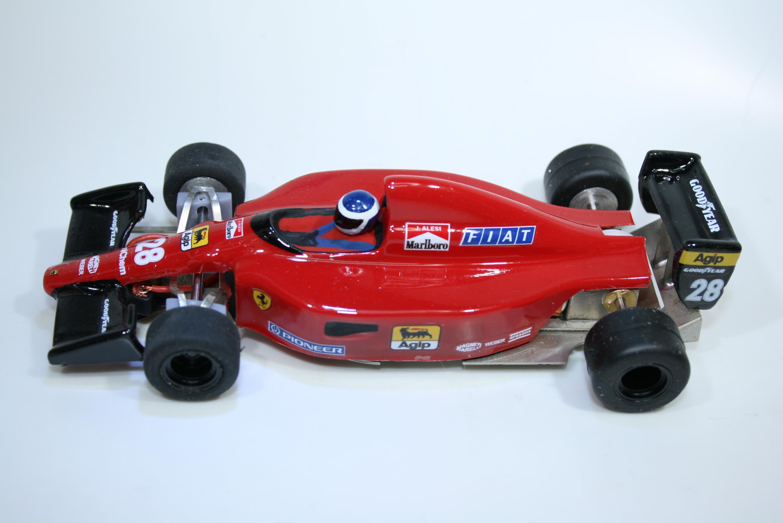 1697 Ferrari 641 1991 J Alesi Nonnoslot NS-Lexan91-28 2021 Boxed