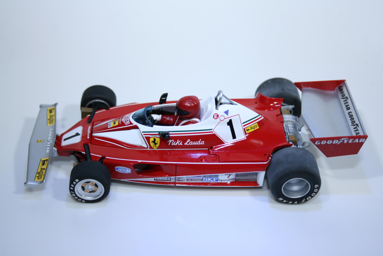 299 Ferrari 312T2 1976 N Lauda Scalextric C2558A 2007 Boxed