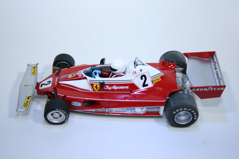 322 Ferrari 312T 1976 C Regazzoni Scalextric C2799 2007 Boxed