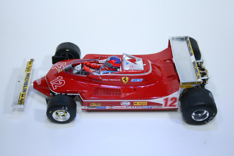 937 Ferrari 312 T3 1979 G Villeneuve SRC 02205 2016 Boxed