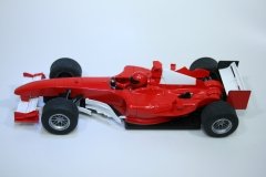 1258 Ferrari F2004 2004 M Schumacher Scalextric Factory Assembly Sample C2676A 2005
