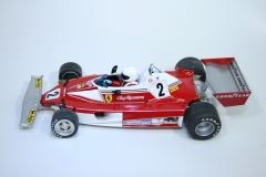1404 Ferrari 312T 1976 C Regazzoni Scalextric C2799 2007 Pre Production
