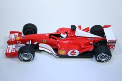 3 Ferrari F2002 2002 R Barrichello Carrera 25707 2003 Boxed