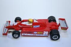 595 Ferrari 126CK 1981 G Villeneuve Polistil A125 1981