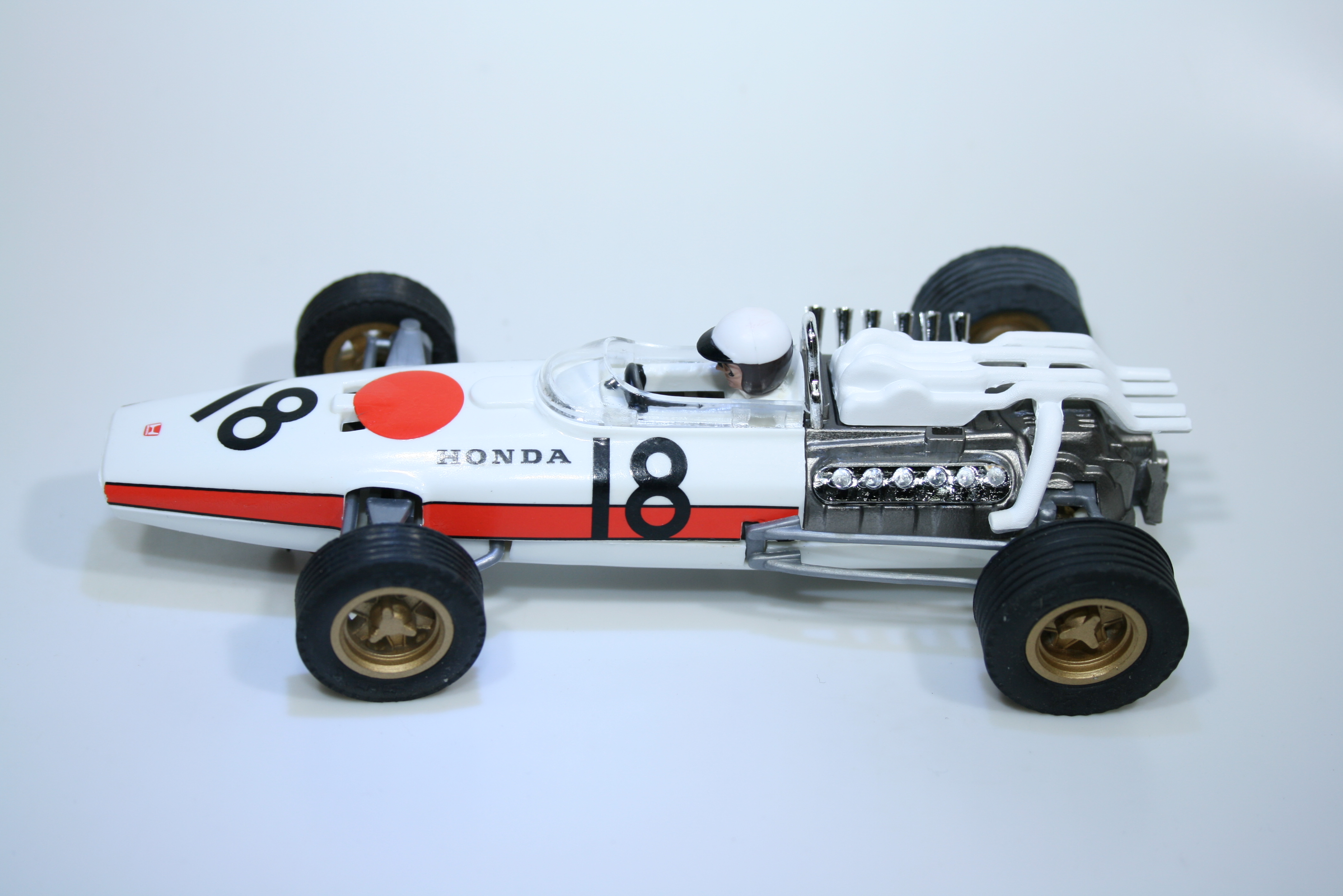 1114 Honda RA273 1966 R Ginther Scalextric Tecnitoys 6381 2009 Boxed