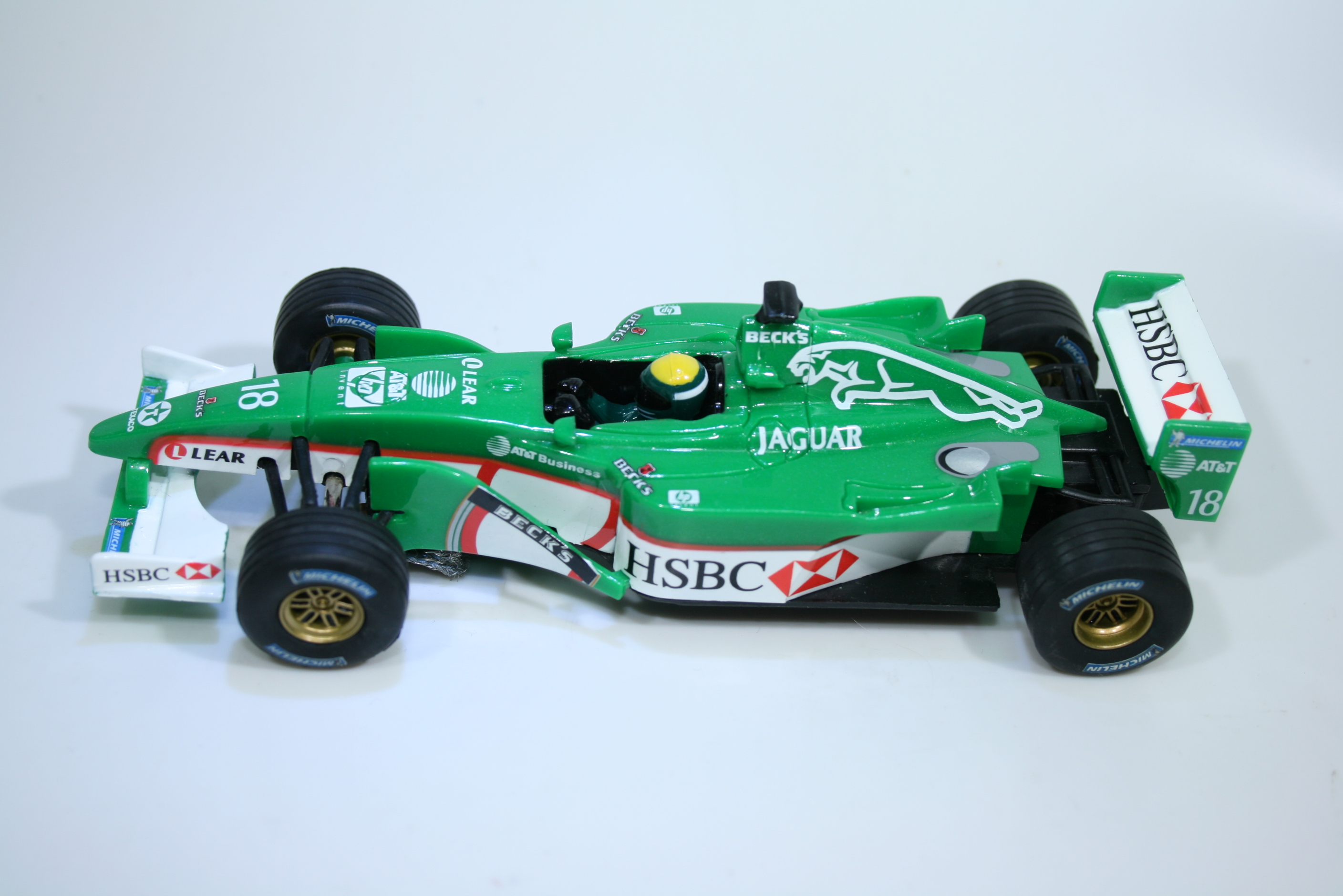1573 Jaguar R2 2002 E Irvine Carrera 25449 Limited Edition 2001 Boxed