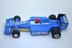 1023 Ligier JS33B 1989 O Grouillard Polistil 32XX4 1990-92
