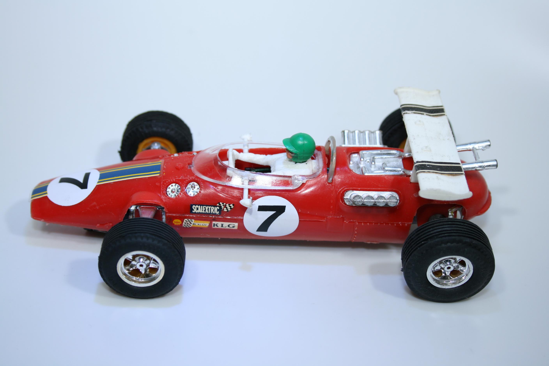 1061 Lotus 38 1965 J Clark Scalextric C8 1969