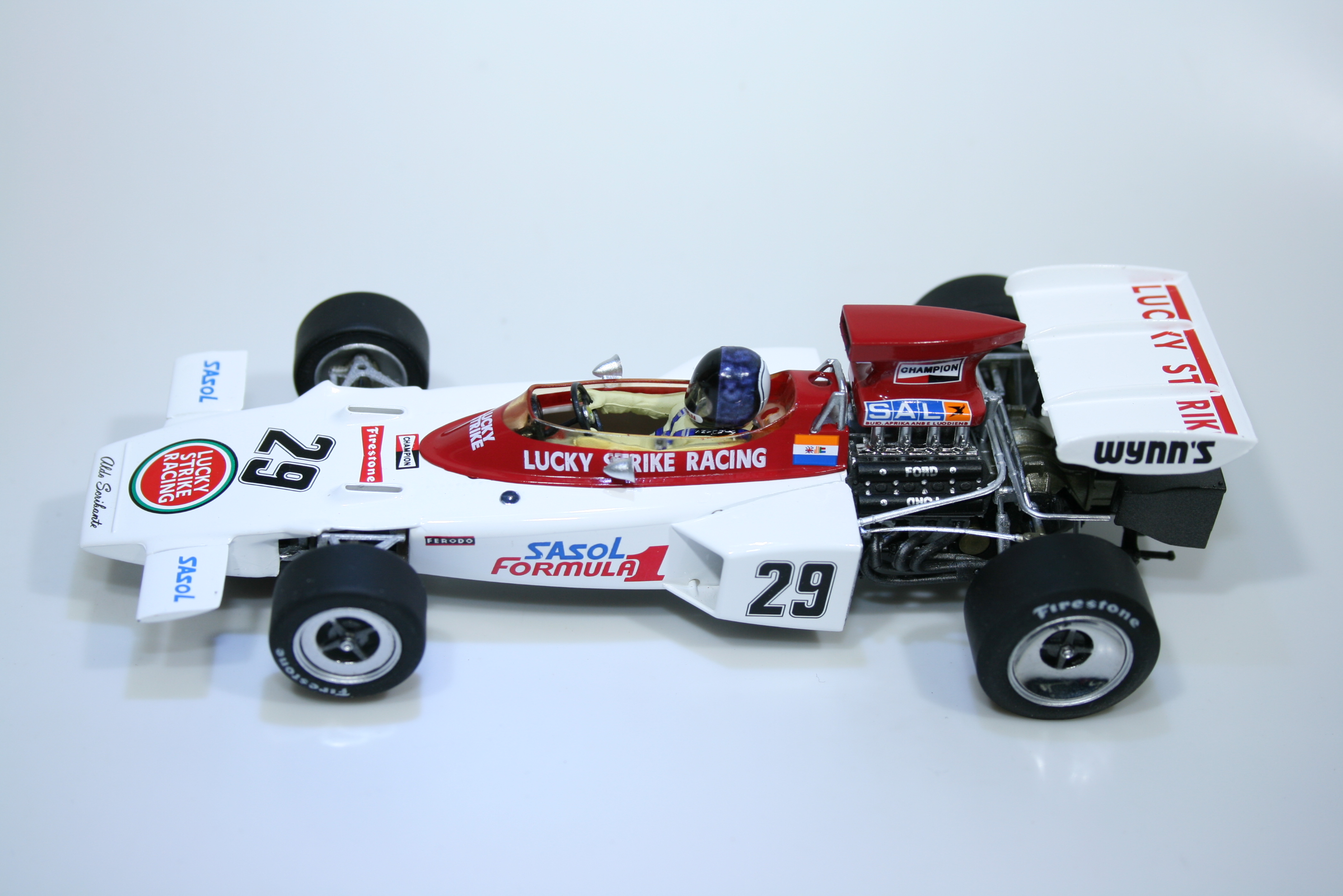 1110 Lotus 72 1972 D Charlton Policar CAR02e 2018 Boxed