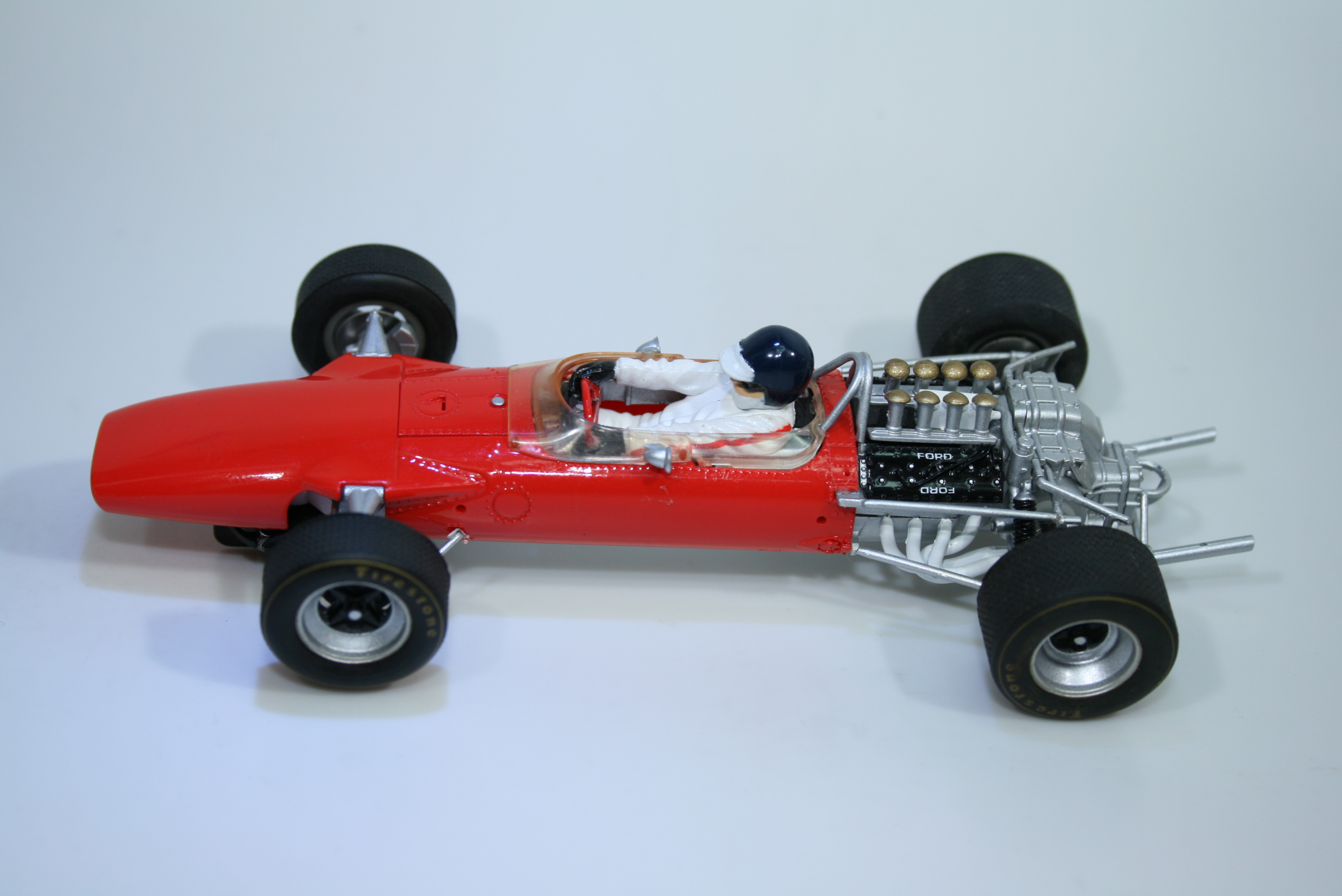 1280 Lotus 49 1968 J Clark Scalextric C3311 2012 Pre Production Paint Sample