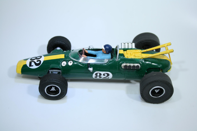 1457 Lotus 38 1965 J Clark Scalextric C8 Relivery 1969