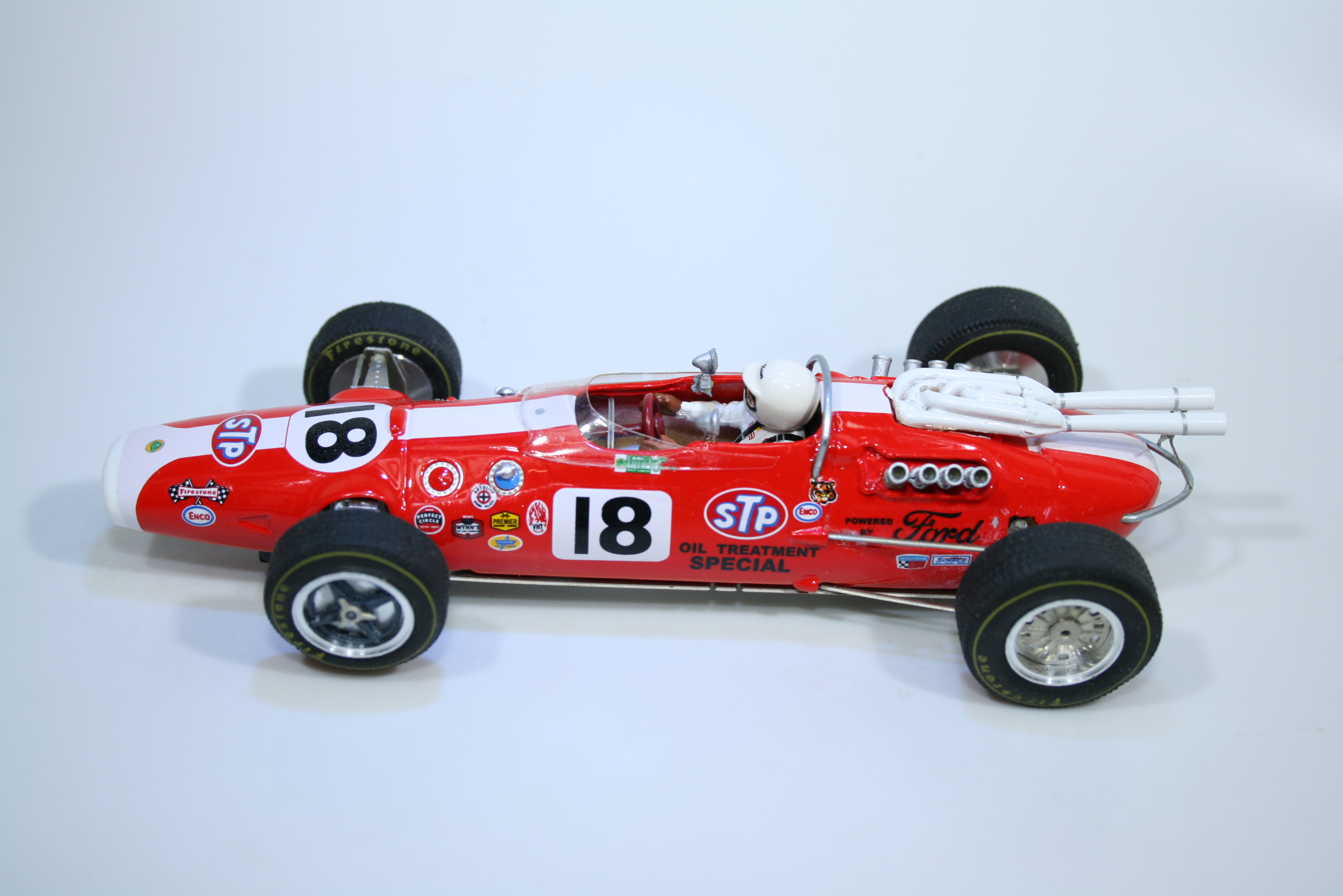 1517 Lotus 38 1966 A Unser Ostorero ODG107 2007 Boxed