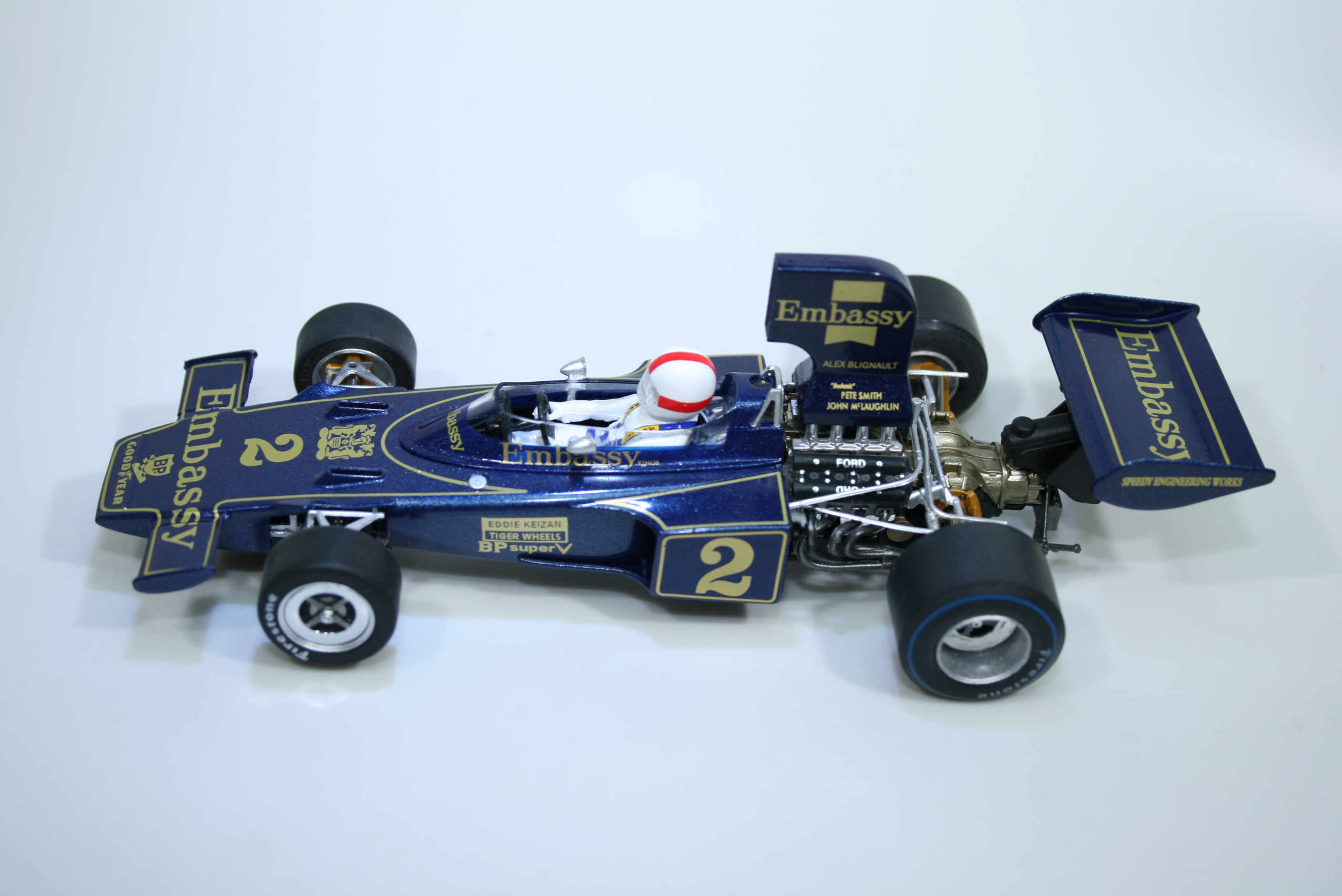 1548 Lotus 72D 1975 E Keizan Policar CAR02F 2020 Boxed