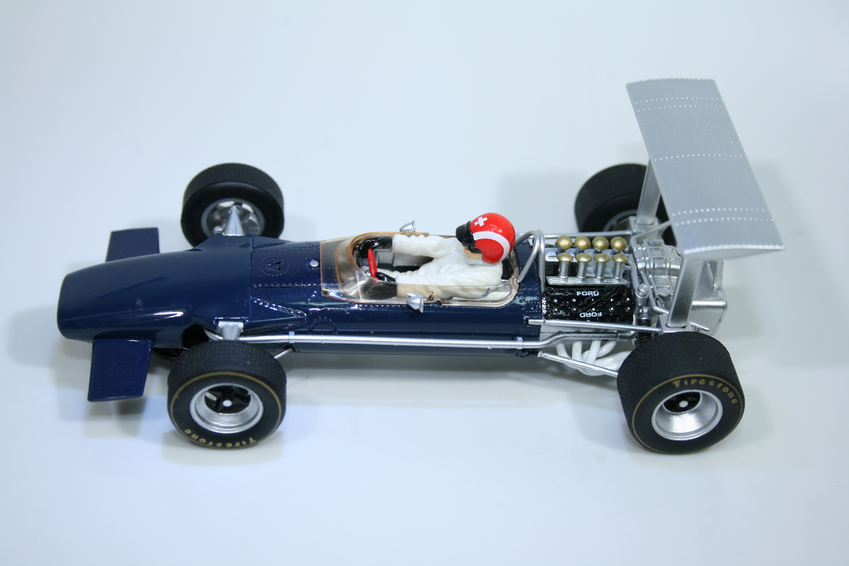 1578 Lotus 49B 1968 J Siffert Scalextric C3413 2013 Pre Production Paint Sample