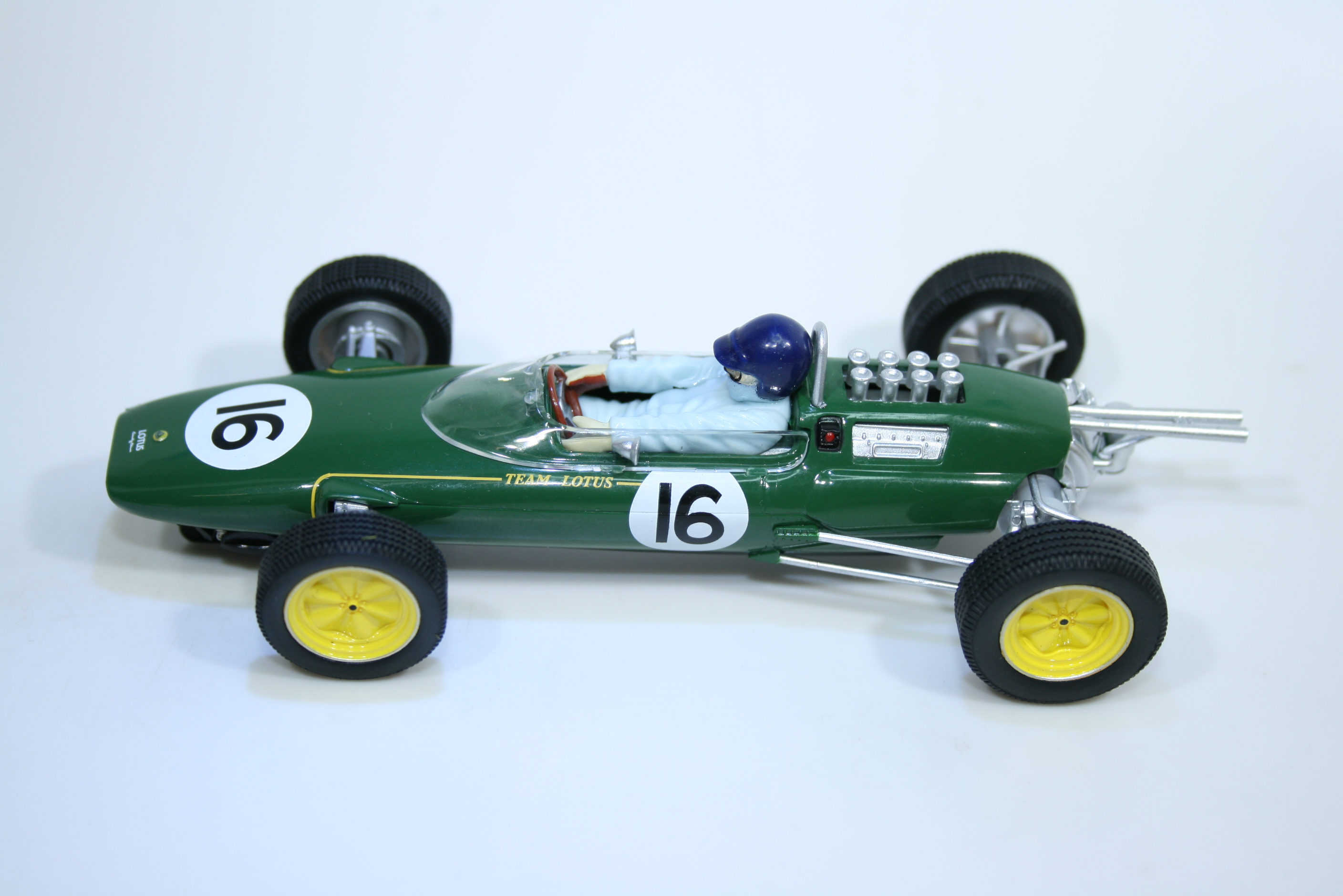1601 Lotus 25 1962 J Clark Scalextric C4184A 2021 Boxed