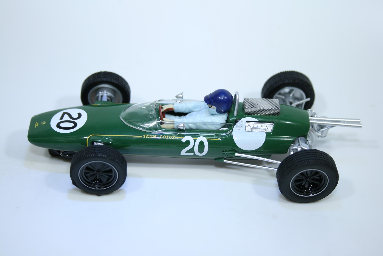 1634 Lotus 25 1962 J Clark Scalextric C4195 2021 Boxed