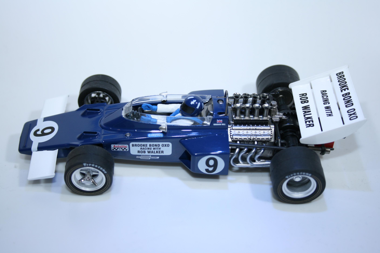 243 Lotus 72 1970 G Hill Vanquish GP3 2004 Boxed