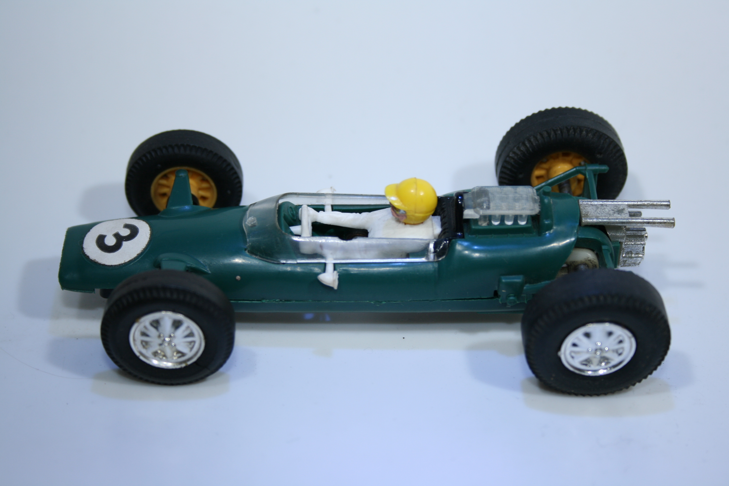 261 Lotus 25 1962 J Clark Scalextric C82 1966 Boxed