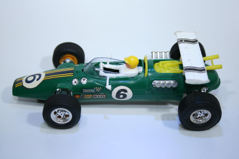 290 Lotus 38 1965 J Clark Scalextric C8 1969