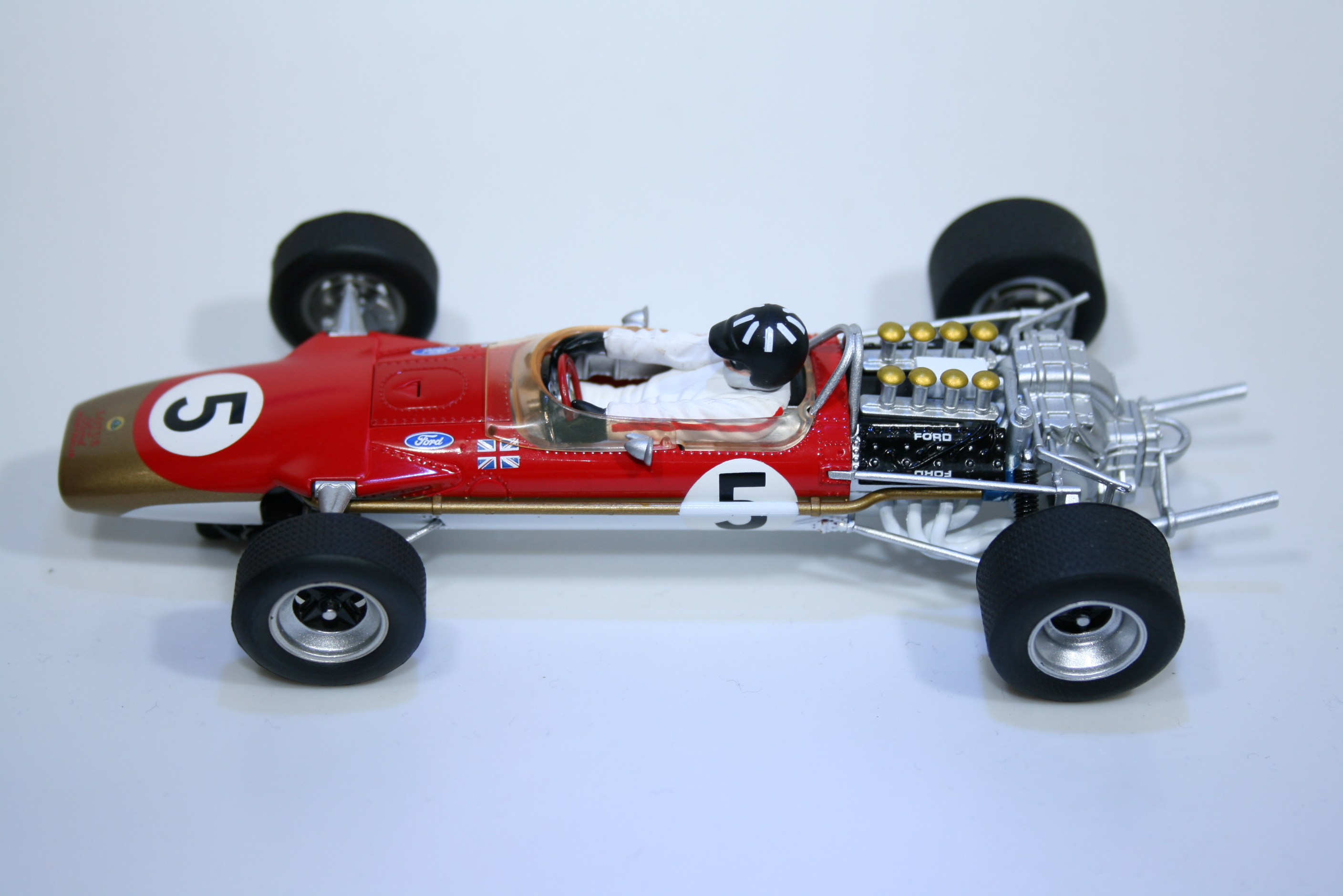 528 Lotus 49 1968 G Hill Scalextric C2964 2009 Boxed