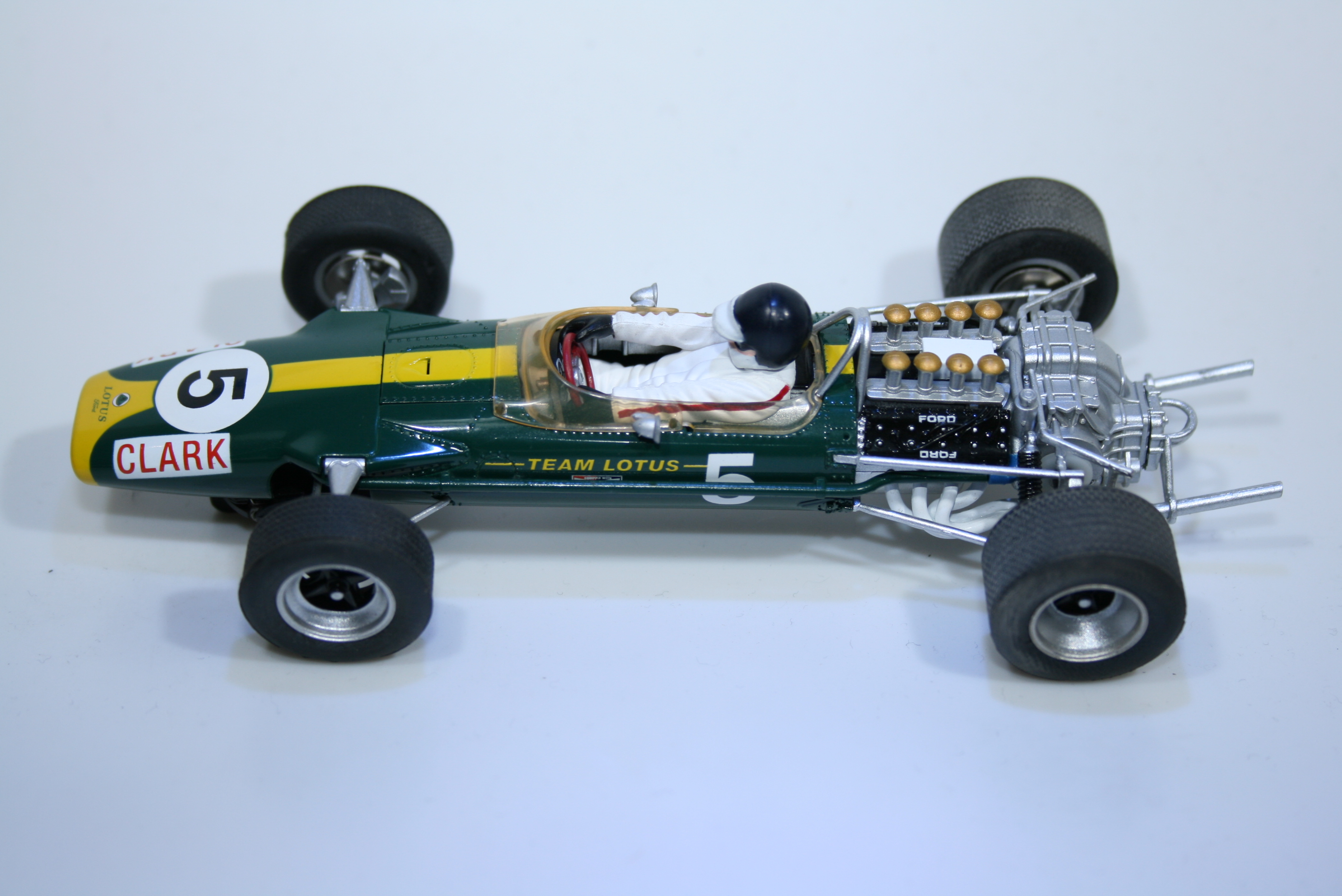 608 Lotus 49 1967 J Clark Scalextric C3222 2011 Boxed