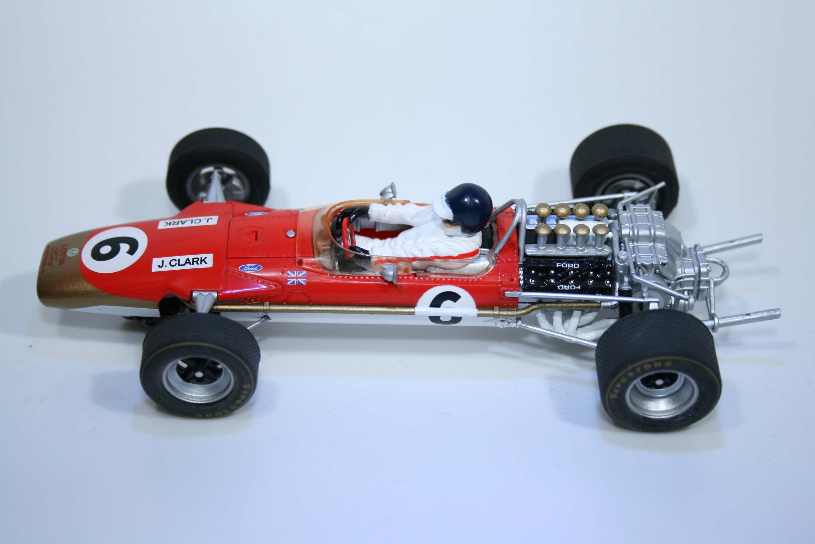 682 Lotus 49 1968 J Clark Scalextric C3311 2012 Boxed