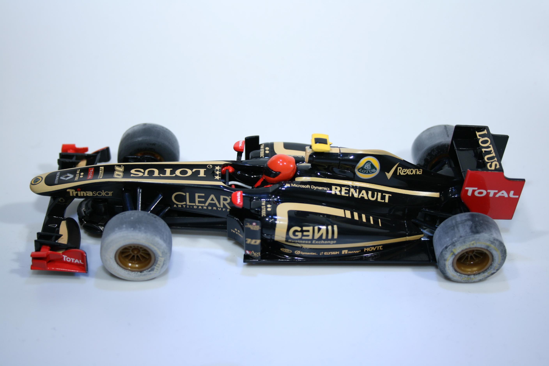 702 Lotus E20 2012 R Grosjean Scalextric C3261 2012 Boxed